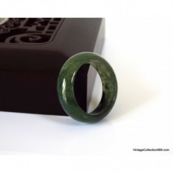 Jadeite Jade Bangle Fei Cui 翡翠 Lavender, Green and White hand carved 59 mm WH319