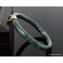 Chinese Hand-carved People Brush pot