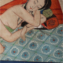 Chinese painting Koi Carp Fish
